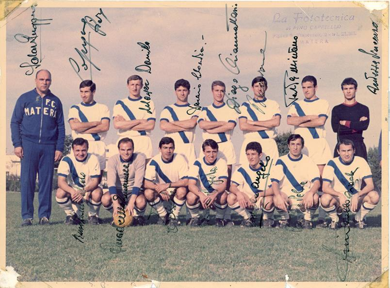 1967-68 - Foot Ball Club Matera - Serie D