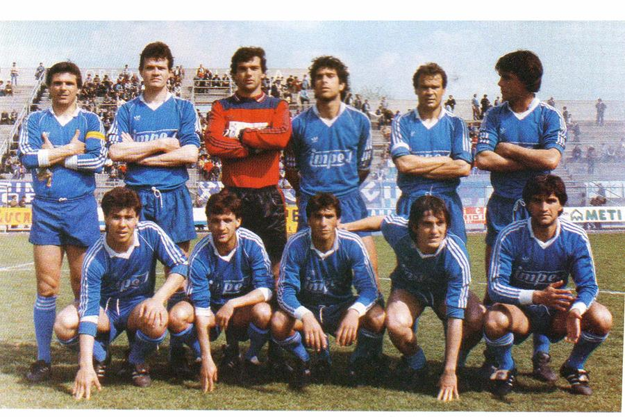 1984 85 foot ball club matera serie c2