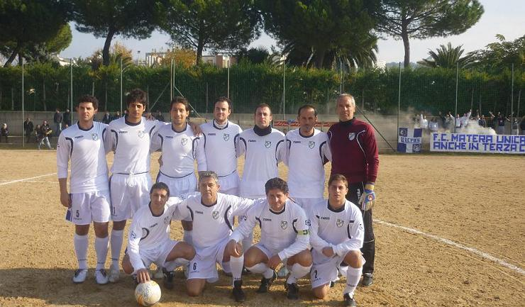 2011-12 - Football Club Matera - Terza Categoria Lucana
